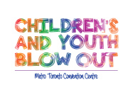 Children's and Youth Blow Out Logo Design